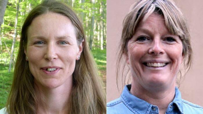 Maria Mehlqvist och Susanna Jordán
