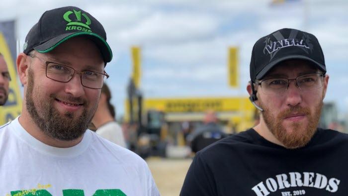 Bröderna Daniel och Joakim Sundberg från Horred