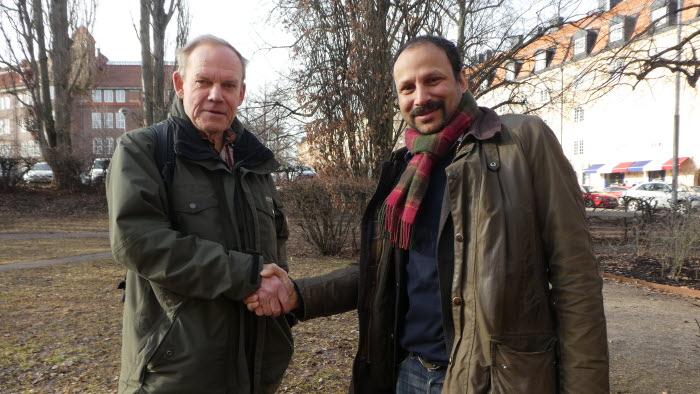 Göran Toss, NF, och Peter Borring, LRF