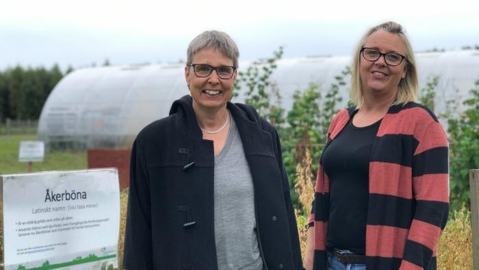 Josefina Guttman och Zarah Mellgren, Lidköpings kommungrupp