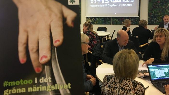LRF Jämställdhetsakademin arrangerade en #metoo-övning bland ledare inom det gröna näringslivet