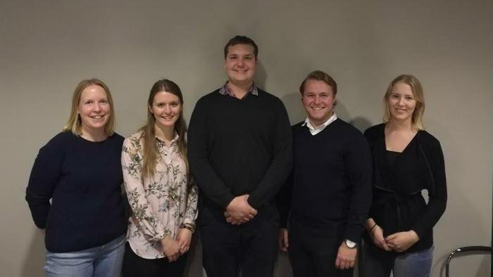 LRF Ungdomens nya styrelse Örebro, årsmöte 2017
