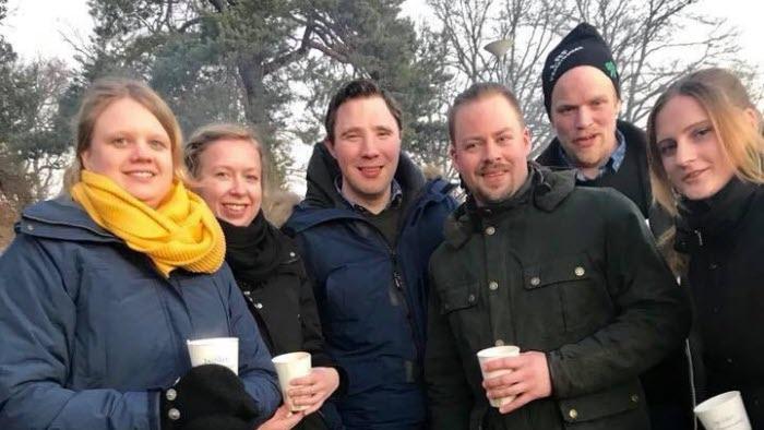 Sofia Warefelt, Catrin Gustavsson, Peter Kristoffersson, Christian Horn, Pär Antonsson och Linda (okänt efternamn)