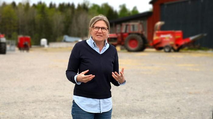 Martina Schagerlund, lantbrukare Lindholms gård