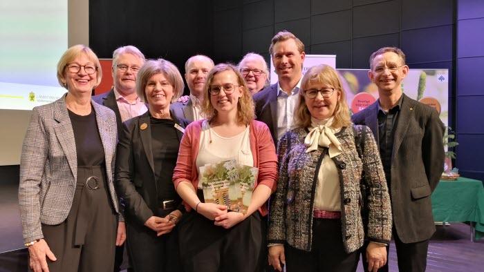 Arbetsutskottet och landshövdingen under lanseringen av livsmedelstrategin. 13 februari 2019, Sörmlands museum Nyköping.