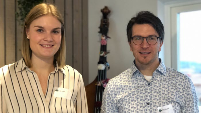 Ida Aaro och Pål Klevand
