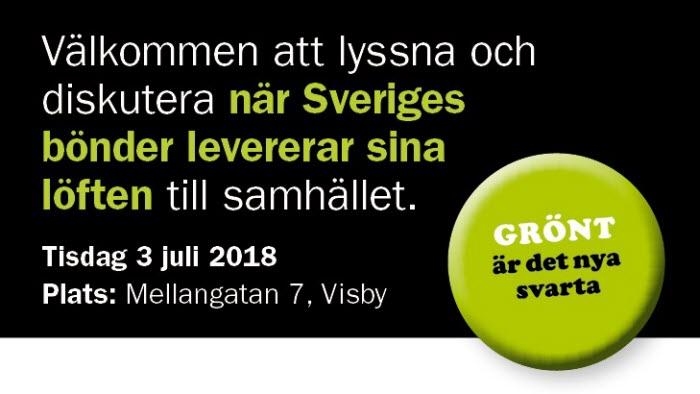 Seminarier Almedalen 2018