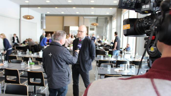 Martin Moraeus i intervju med SVT Dalarna