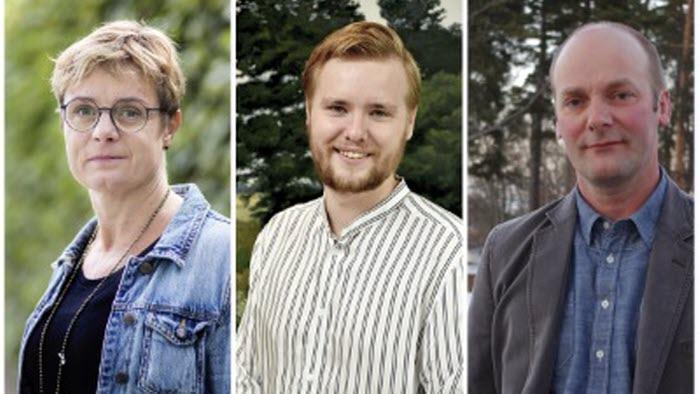 Kristina, Anton och Per
