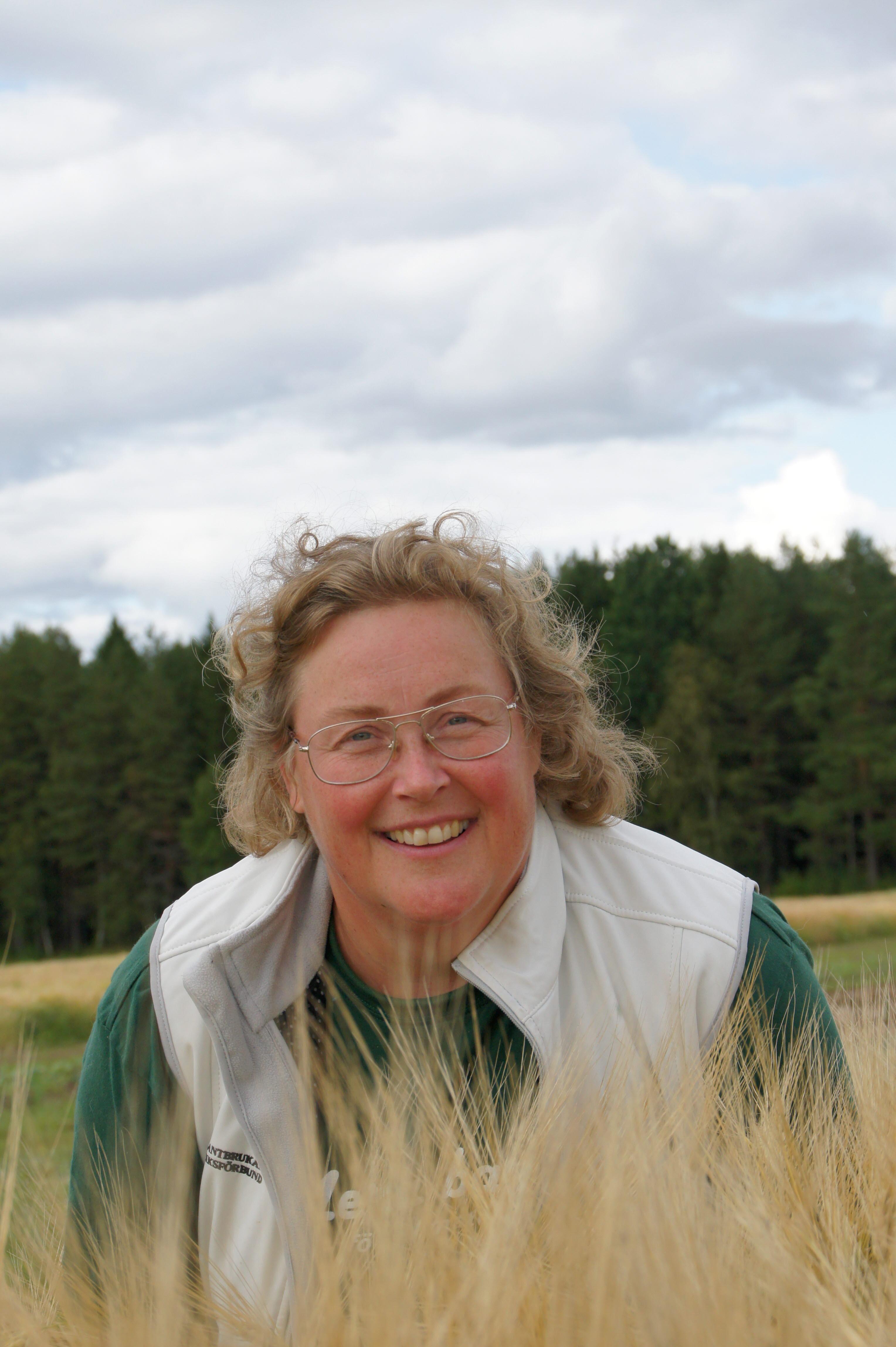 Jenny Karlsson, porträtt, ordförande LRF Norrbotten