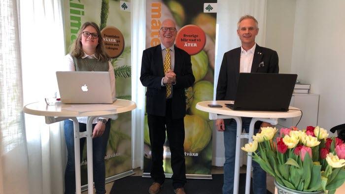 Till Hallands Nyhetsbrev 200319, Sofia Warefelt, Anders Richardsson, Fredrik Hansson