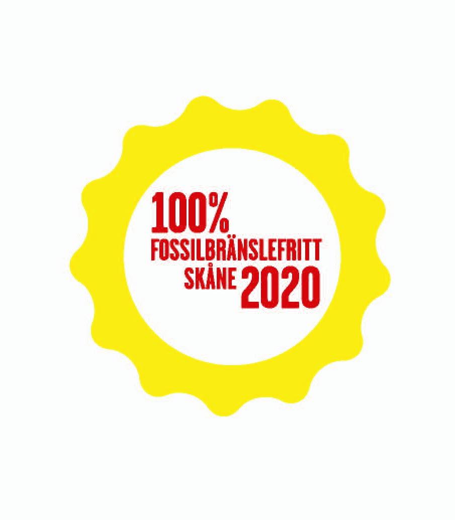 100 % fossilbränslefritt Skåne 2020