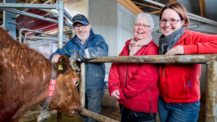 Sofi och föräldrar Dalby eko