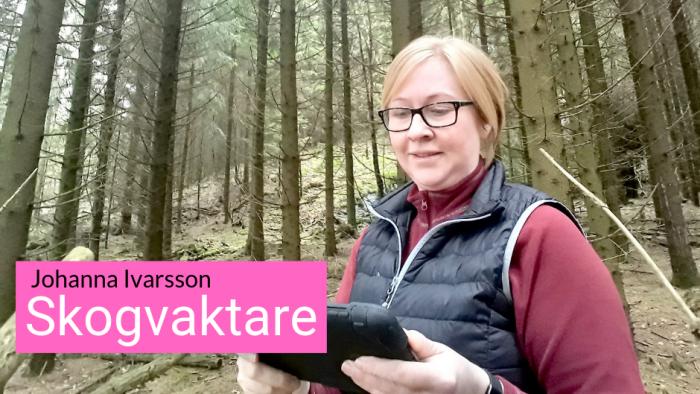 Johanna Ivarsson i 8e mars kampanj