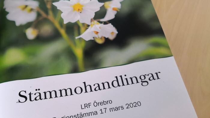 Stämmohandlingar LRF Örebro