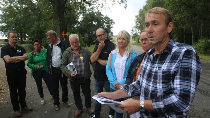 Politikerträff Hornborga