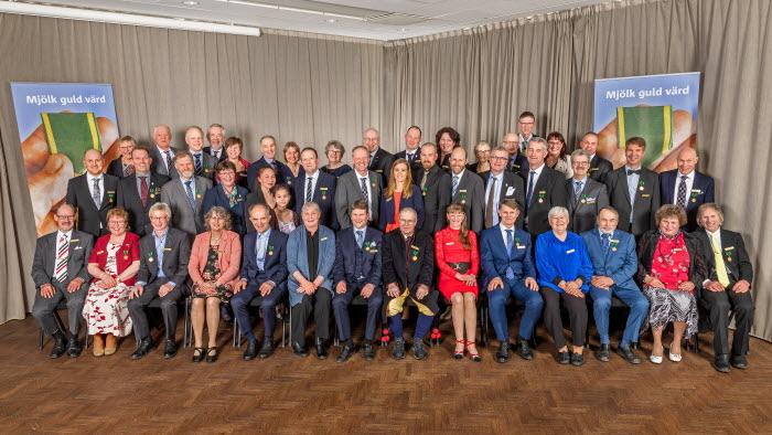 LRF Mjölks Guldmedalj 2019, gruppbild