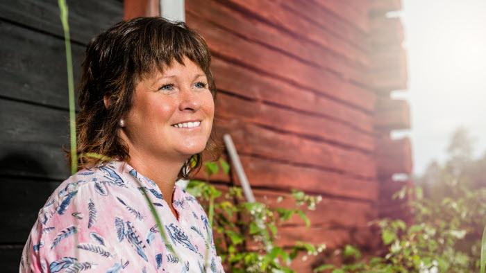 Porträtt Lotta Folkesson, LRF Västerbottens ordförande
