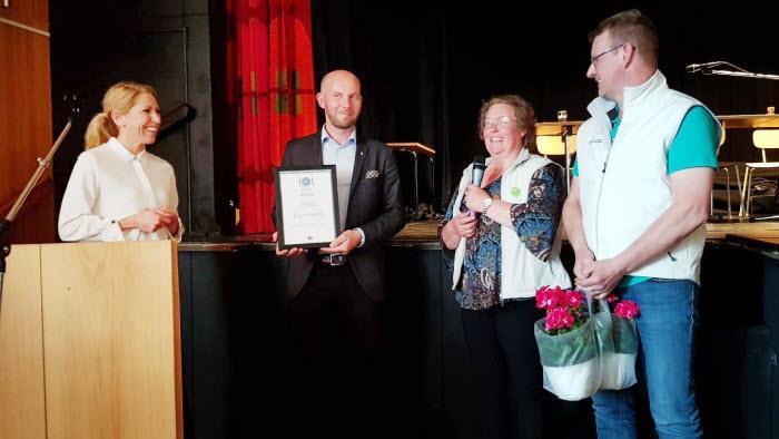 LRF Norrbotten delar ut diplomet Innovativ upphandling till Bodens kommun