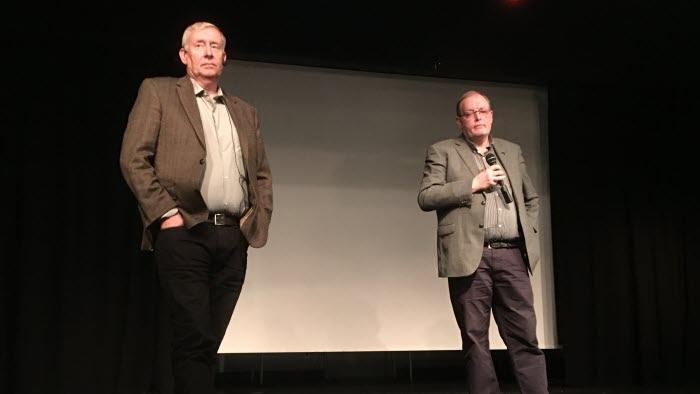 Sven Swedberg, länsstyrelsen, och Björn Risinger, Naturvårdsverket