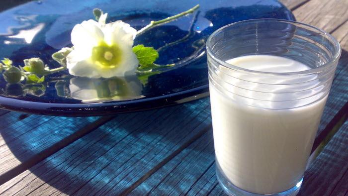Mjölkglas