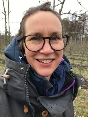 Märta Johansson, företrädare för LRF Trädgård/Frukt