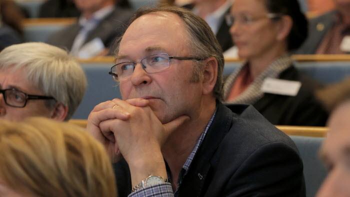 Arne Lindström. ordförande LRF Västerbotten, under riksförbundsstämman 2015.