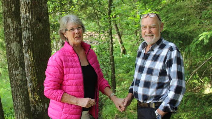 Kristina och Bengt Vänneå, Halland