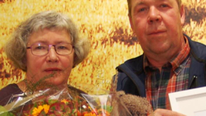 Vinnarna av 2015 års Hållbarhetsstipnedium - Mats och Maj-Britt Svensson, Säby Prästgård, Tranås
