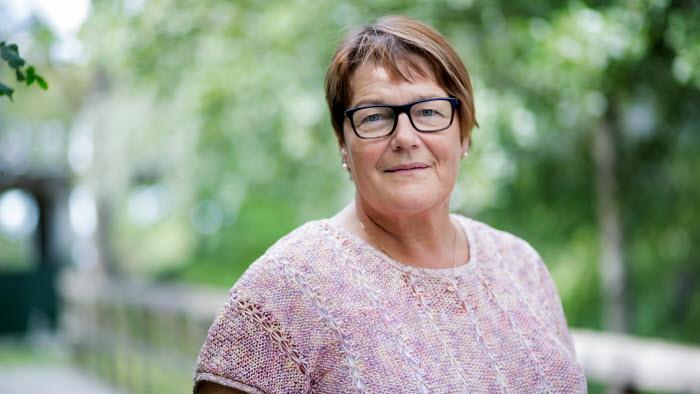 Pirjo Gustafsson, fackligt representant för Saco i LRFs styrelse