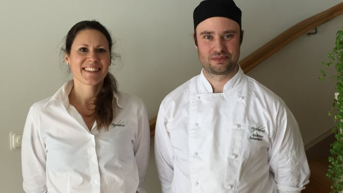 Emma Liedman och Andreas Johansson, Hjortseryd