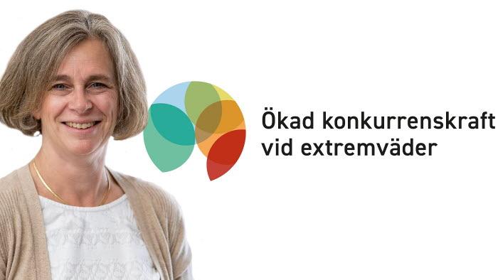 Lotta Drave Vesterlund, projektledare för ökad konkurrenskraft vid extremväder