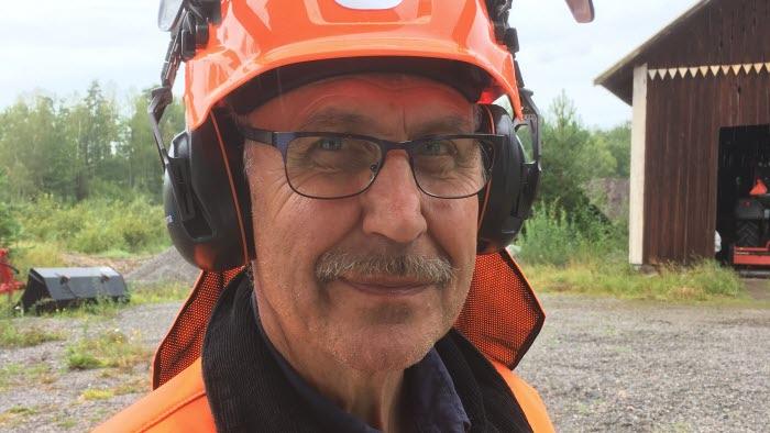 Håkan Jansson, projektledare Mersmak röjning i Östergötland