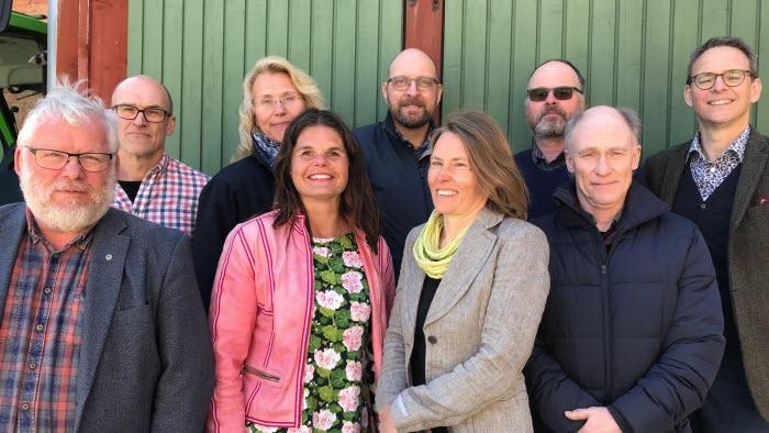 Håkan Persson, Sven Callenberg, Helena Richardsson, Sofia Karlsson, Björn Larsson, Sofia Kämpe, Johan Stegard, Hans Gradén och Martin Gustavsson