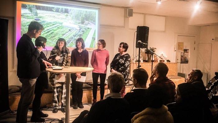 Klimatdebatt med P4 Dalarna och Anita Boman Daniels