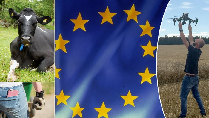 Eu-projektet EIP-Agri lyfter hela Sverige