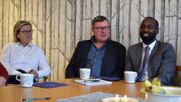 Annika Nilsson, Lars-Ove Johansson, Mohammed