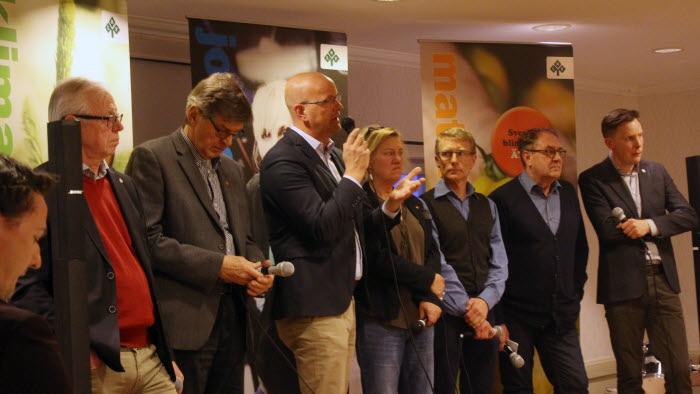 Riksdagspolitiker debatt Aneby 2018