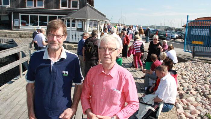 Per-Olof Olofsson och Henry Hermansson, LRF Tjörn.