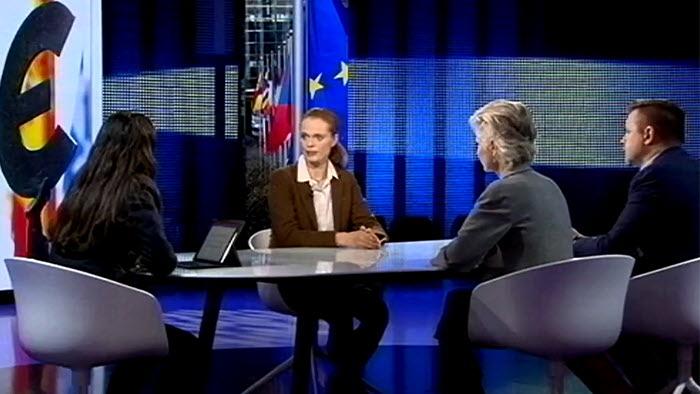 Ingrid Rydberg diskuterar CAP i SVT Forum