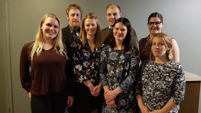 Årsmöte LRF Ungdomen Sjuhärad 2018 Styrelse