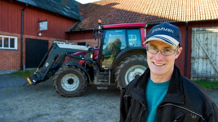 Proteingrödor hos Martin Johansson Ullared. Foto: Trons