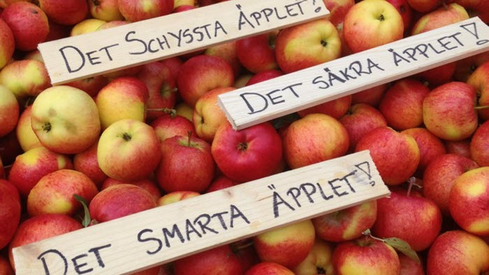 äpplen mervärden
