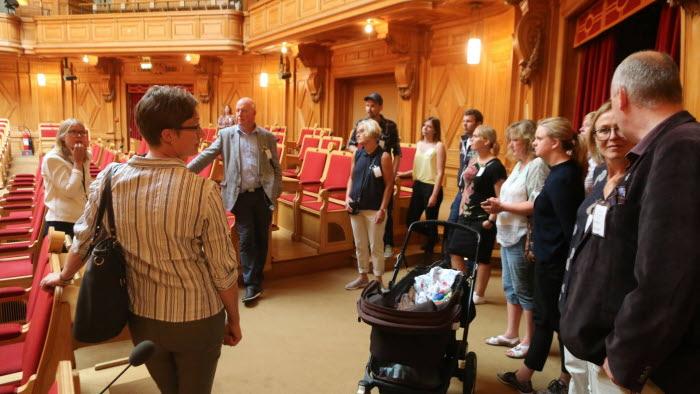 LRF Halland besöker riksdagen