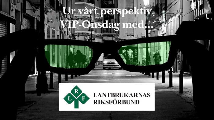 VIP onsdag ur vårt perspektiv