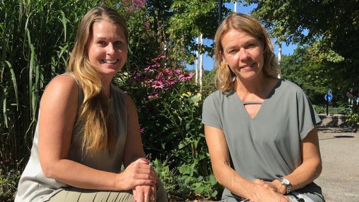 Anneli Basta och Ulrika Haglund
