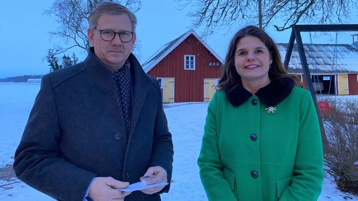 Stefan Aldén och Sofia Karlsson