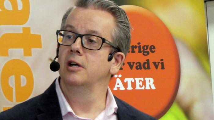 Richard Tellström var inledningstalare vid LRF Örebros regionstämma 20 mars 2018