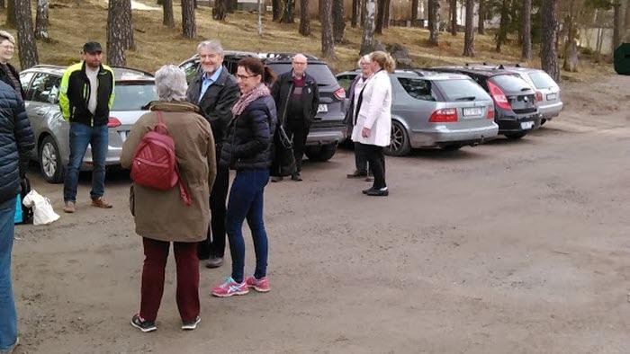 Politikerresa Arvika april 2018 deltagare