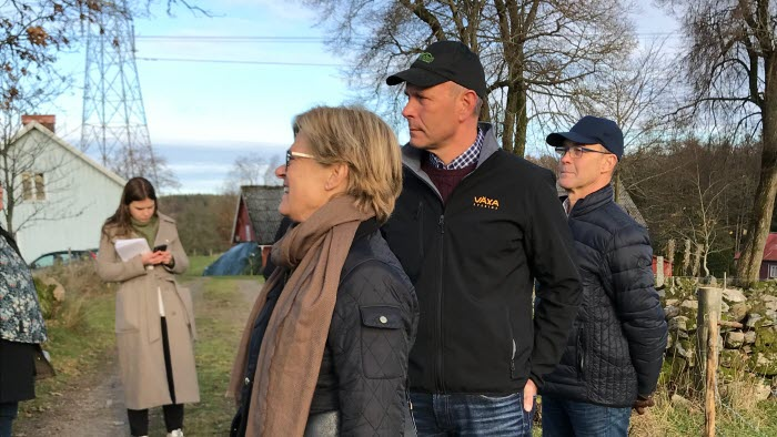 Möte ang Harsprångsledning Varbergs kom grp
